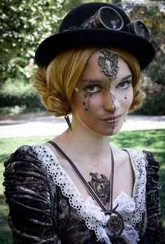 Six ailes photography #steampunk #steampunk girl