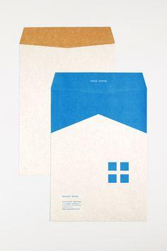 CLIENT : 株式会社天美住建一級建築士事務所 DATE : 2013 Stationary Branding, Stationary Design, Logo Branding, Logos, Japan Branding, Graphic Design Pattern, Print Design, Paper Design, Book Design