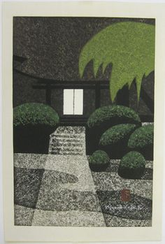 Japanese Art by the artist Kiyoshi Saito   Scriptum Inc