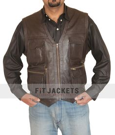 Chris Prat Vest is now available at fitjackets.com Store with free shipping & Gift!!  #ChrisPrat #JurassicWorld #LeatherVest #geektyrant #Cosplay #Celebrity #Sale #geek #geekcheezburger #cheezburger #Shopping #Hot #Sexy #LeatherOutfit #Fashion #MensOutfit #MensFashion