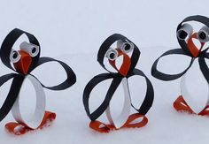Cheap Craft Ideas for Kids - Penguins -  Click Pic for 19 Quick & Easy Christmas Crafts