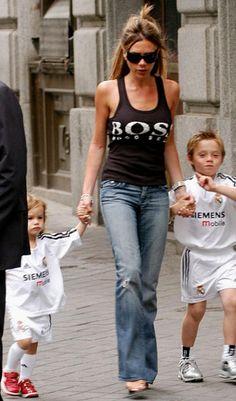 Victoria, Brooklyn & Romeo Beckham