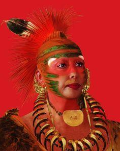 Orlan, American-Indian Self-Hybridizations, 2005-2008.