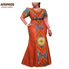 Image of Private Custom African Print Traditional Ankara Dress for Women - Owame Best African Dresses, African Traditional Dresses, African Print Dresses, African Attire, African Wear, African Fashion Dresses, Fashion Outfits, African Style, African Outfits