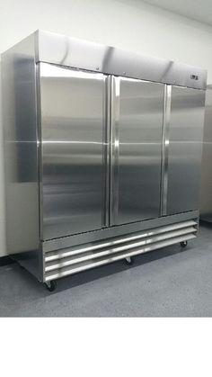 Commercial Grade - 3 Door Reach In Refrigerator - Model CFD-3RR