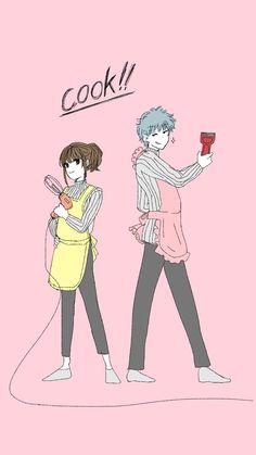 Anime Love Couple, Cute Anime Couples, Couple Art, Gintama, Comedy Anime, Okikagu, Couple Wallpaper, Mystic Messenger, Manga