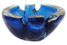 Handblown Murano  Glass Ashtray on OneKingsLane.com