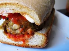 The Small Boston Kitchen: What Would Happen if an Eggplant and a Meatball Had a Baby?