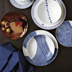 Nice dinnerware from West Elm.