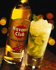 A real mojito is made with Havana Club.
