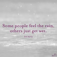 Feel The Rain!