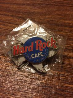 Orlando Hard Rock Cafe Shark Spinner Pin