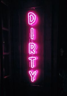 dirty neon forever // eli-meow