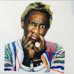 Young Thug Rapper Artist poster wall decoration photo print x Young Money, Hip Hop News, Young Thug, Poster Wall, Mtv, Rapper, Celebs, Actors, Type