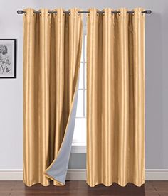 Siena Home Fashions Buona Notte Blackout Curtain 63 (Gold... https://www.amazon.com/dp/B013PUQXC0/ref=cm_sw_r_pi_dp_x_vHwaybZB4YP1T