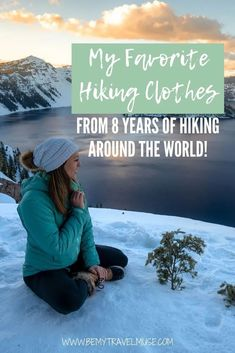 The Hands-Down Best Hiking Clothes for Women Hiking Tips, Camping And Hiking, Best Hiking Pants, Hiking Checklist, Backpacking Trips, Camping Outfits For Women, Hiking Outfits, Women Camping, Hiking Clothes Women