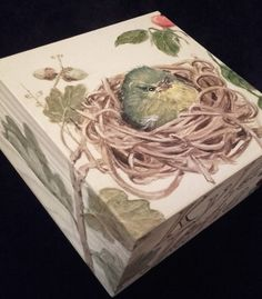 Late Summer Wooden Box Reserved от PaintWorkStudios на Etsy