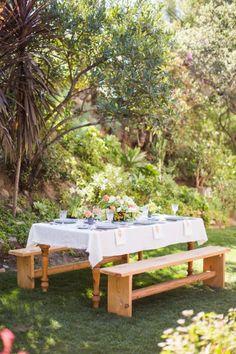 DIY Outdoor Luncheon + Two Delicious Salad Recipes