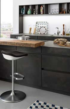 CONCRETE-A › Beton › Modern Style › Küchen › Küchen | Marken-Einbauküchen der LEICHT Küchen AG