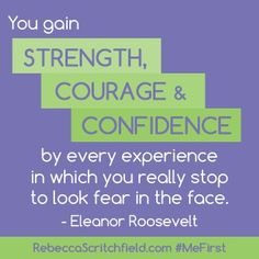 Great quote about strength and courage