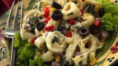 ANTIPASTO TORTELLINI SALAD http://www.pillsbury.com/recipes/antipasto-tortellini-salad/aa57919c-56be-4e8c-a08a-72233ebd7bd6