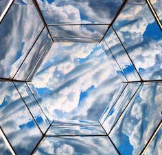 Céu de Inhotim.