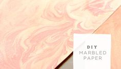 This morning we shared a few fun ways to incorporate marbleized details into your day. One of the easiest ways is by creating your own marbled paper – which you can use for confetti, favors, invites – so many ways! Our DIY contributor Smitten on Paper is sharing how easy it is to create your own marbled paper, so I'll...