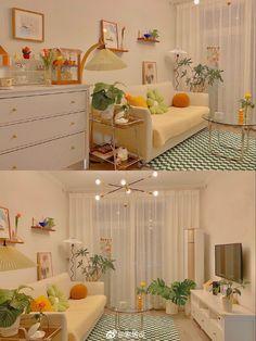 Room Design Bedroom, Room Ideas Bedroom, Home Room Design, Bedroom Decor, Minimalist Room, Aesthetic Room Decor, Apartment Interior, My New Room, House Rooms