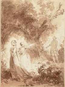 Jean-Honoré Fragonard, Nicaise, Musée du Petit Palais, Paris. Les Contes de La Fontaine, Editions Diane de Selliers.