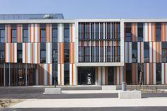Gallery - Lycée Albert Einstein / NBJ Architectes + François Privat - 1