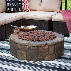 Product Information  Original Price: 499.99  A wide, powerful fire pit that's…