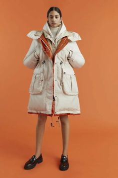 Sport Fashion, Fashion News, Fashion Show, High Fashion, Tommy Hilfiger, Outdoorsy Style, Runway Magazine, Leather Mini Dress, Wraps