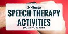Speech therapy activities from HomeSpeechHome will liven your therapy. All activities can be used for multiple disorders.