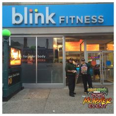 Monster Event gym promotion in Queens. Blink Fitness, Natural Vitamins, Promotion, Queens, Gym, Training, Thea Queen, Queen Bees, Gymnastics Room