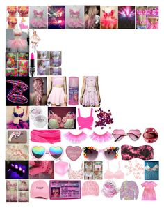 """""""Pink Party"""" by rachelformsbeauty ❤ liked on Polyvore featuring Cemi Ceri, Sugarpills, SW Global, Ciaté, moree, Etro, Punky Pins, MAC Cosmetics, In Your Dreams and Cosabella"""
