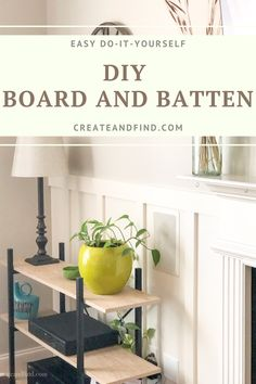 Make this DIY Board and Batten accent wall for instant character for your home. I'll show you what we did, mistakes we made, and how I'd do it over again. In Wall Speakers, Get Back To Work, Board And Batten, Ship Lap Walls, Accent Walls, Baseboards, Paint Designs, Built Ins, Mistakes