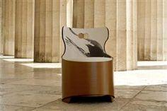 Eco-friendly and Artistic: TONDA Armchair by Capolinea Design