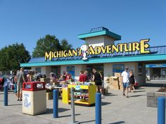 Michigan's Adventure is the little sister theme park to Cedar Point, one of the best amusement parks in America. 32 Perks Of Living In Michigan Despite The Economy Best Amusement Parks, Abandoned Amusement Parks, Veterans Discounts, Military Discounts, Muskegon Michigan, Lake Michigan, Kayak Pictures, Universities In America, Just A City Boy