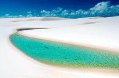 10 destinations au Brésil. Les Lençois Maranhenses