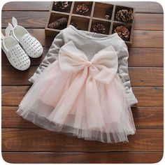 US $5.88 Autumn Infant Baby Dress Sequin Yarns Tutu Dress Baby Girls Party Princess Dress Full Sleeve Toddler Dress Bow Baby Clothes aliexpress.com