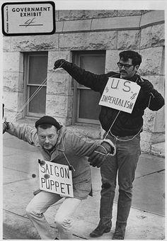 Anti-Vietnam war protesters in Wichita, KS Vietnam History, Vietnam War Photos, World History, Vietnam Protests, Vietnam Veterans, American War, American History, American Veterans, The Things They Carried