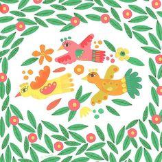 The birdies are lucky to be flying alongside the work of other talented designers represented by @hansenprintandtex kids Studio @heimtextil 10-13 Jan #frankfurt #homedecor #textiles #homewares #fabric #children #illustration #cards #handmade
