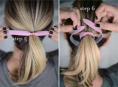 DIY Hair Clips DIY Crafts DIY Rawhide Hairbands