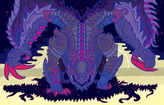 Gore Magala - The Black Eclipse by Cosmopoliturtle