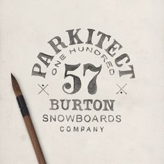 Burton Parkitect on Behance by BMD DESIGN