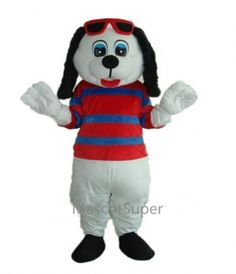 Only $219  Happy Dog Mascot Adult Costume