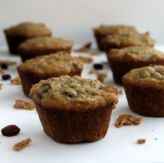 A lot of muffins over the past few weeks; as I indicated, muffins are comforting to me .  And I think after what I heard from all of you the...