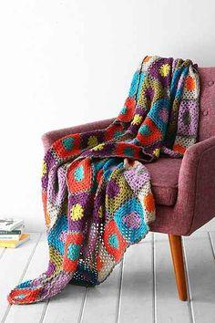 Plum & Bow Granny Throw Blanket