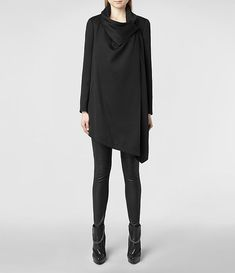 Womens Bayle Monument Coat (Black) | ALLSAINTS.com So. much. yes.