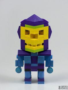 LEGO - CubeDude Skeletor, Angus MacLane, 2010.